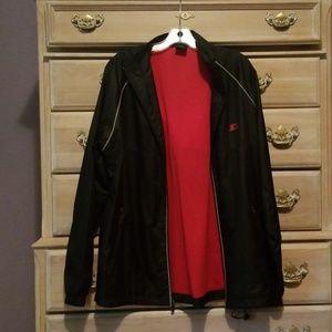 Starter Black Windbreaker Jacket